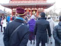 浅草寺宝蔵門前
