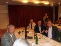 ご満悦な笑顔は、右から濱田さん、浅原相談役、河原さん、古堺さん、石塚副会長